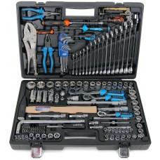 ALK-8022F Набор инструмента 1/4, 3/8, 1/2, 6 и 12 гр. 131 пр.