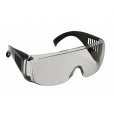 C1007 Очки защитные с дужками дымчатые