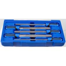 ACK-B3021 Набор напильников, в ложементе-кейсе, 5 пр.
