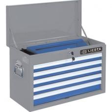 AEP-B002B Ящик  инструментальный, 5 полок, 660 x 307 x 427 мм