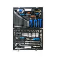 ALK-8009F Набор инструмента 143 предмета 1/4 и 1/2 6гр.