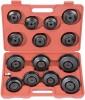 ATA-0291 Набор чашек для съема масляных фильтров 15 пред...