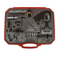 ATA-4704 Набор  для регулировки фаз ГРМ бензиновых и дизельных двигателей FORD, 51пр.