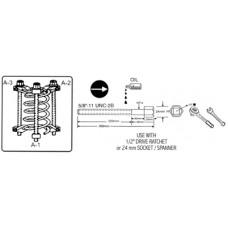 ATC-2161 Стяжка для пружин с обхватом витка