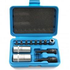 ATF-0008 Набор головок для обслуживания кондиционера, ЭБУ двигателя, и демонтажа датчиков