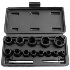 ATF-5139A Набор головок для скругленного крепежа, 13 предметов