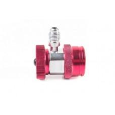 ATL-9006 Адаптер красный 1/4 для двухвентильного манометрического коллектора