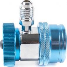 ATL-9007 Адаптер синий 1/4 для двухвентильного манометрического коллектора
