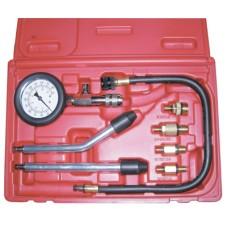 ATP-2075 Компрессометр бензиновый, набор с гибкой, 2-мя жесткими насадками и переходниками
