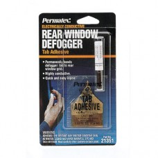 PR-21351 Клей токопроводящий для ремонта нитей обогрева заднего стекла (двухкомпонентный) 0,8мл+0,6мл  PERMAT
