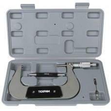 T050009 Микрометр МК-125, 125 мм - 0.01 КЛ.1, ГОСТ 6507-90
