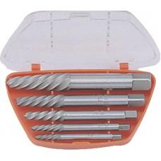 TAP-50003 Набор экстракторов шпилек Cr-Mo 5/64-19/64 5пр