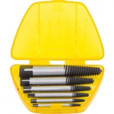 TAP-50004 Набор экстракторов шпилек углерод. сталь 1/8-3/4 6пр