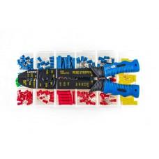 TCP-10026 Набор для обжимки с клещами и клеммами 201пр