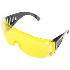C1008 Очки защитные с дужками желтые